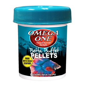 Omega One Betta Pellets pašaras gaideliams, 28 g