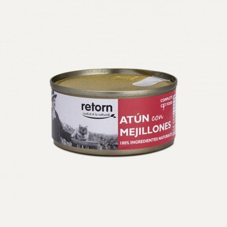 Retorn Cat Can Tuna With Mussels konservai katėms, 80 g