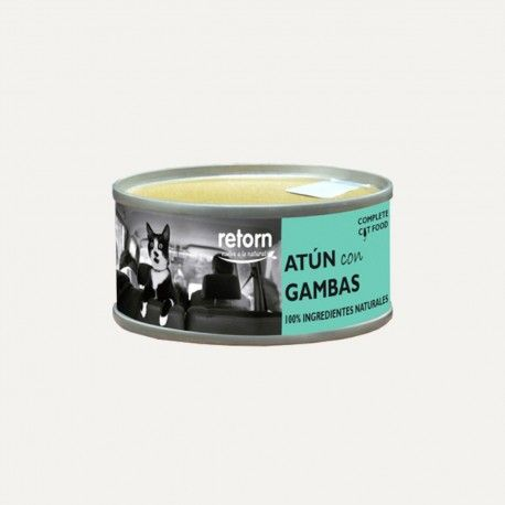 Retorn Cat Can Tuna With Shrimps konservai katėms, 80 g