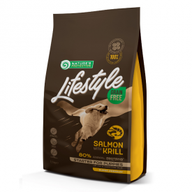NP Lifestyle Grain Free Salmon with Krill Starter All Breeds