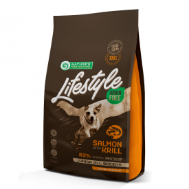 NP Lifestyle Grain Free Salmon with Krill Junior All Breeds 1,5 kg