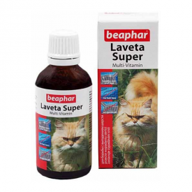 Beaphar Laveta Super Cat, 50 ml