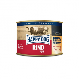 Happy Dog Rind Pur konservai šunims su jautiena, 200 g Happy Dog  - 1