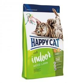 Happy Cat Indoor Weide-Lamm pašaras suaugusioms katėms su ėriena, 10 kg Happy Cat  - 1
