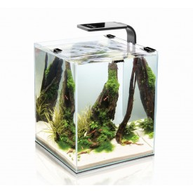 Aquael Shrimp Set Smart Black akvariumas su įranga krevetėms