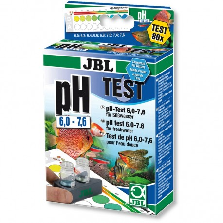 JBL pH 6,0-7,6 Test-Set pH testas
