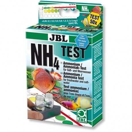 JBL NH4 Test-Set amonio testas
