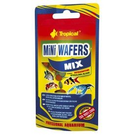 Tropical Mini Wafers Mix pašaras dugninėms žuvims 18g