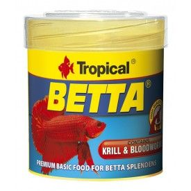 Tropical Betta pašaras gaideliams 50 ml