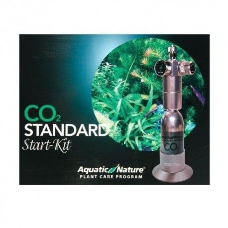 CO2 Standart Kit Silver įrangos komplektas Aquatic Nature Akvazoo - 1