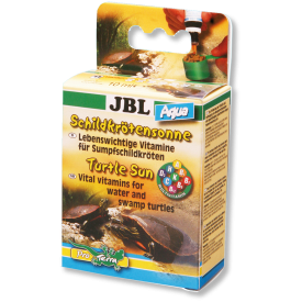 JBL Turtle Sun Aqua multivitaminai vandens vėžliams, 10 ml