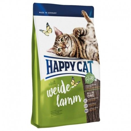 Happy Cat Adult Weide-Lamm pašaras suaugusioms katėms su ėriena, 10 kg Happy Cat  - 1