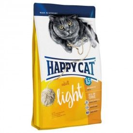 Happy Cat Adult Light pašaras suaugusioms, linkusioms tukti katėms, 10 kg Happy Cat  - 1