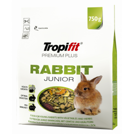 Tropifit Premium Plus Rabbit Junior pašaras jauniems triušiukams 750 g