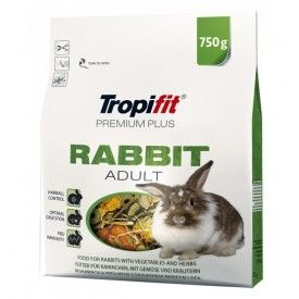 Tropifit Premium Plus Rabbit Adult pašaras triušiams 750 g